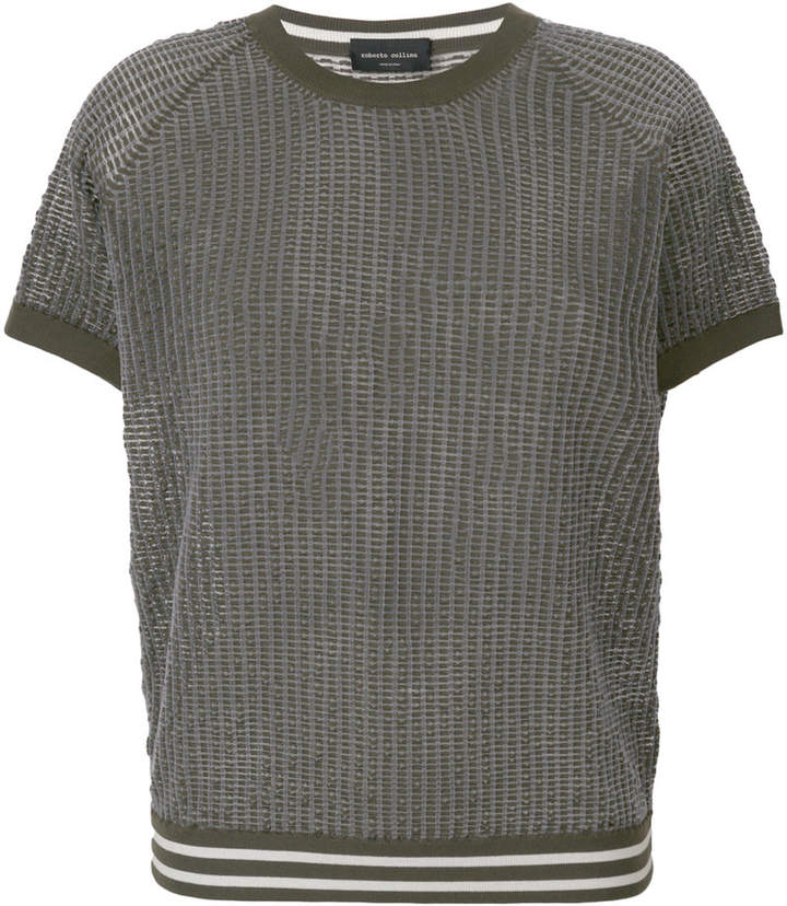 Roberto Collina sheer knit T-shirt