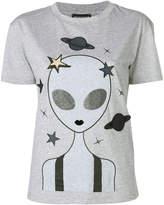 Emporio Armani alien print T-shirt