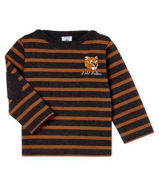 Petit Bateau Baby Boys' Mariniere_5048001 Long Sleeve Top