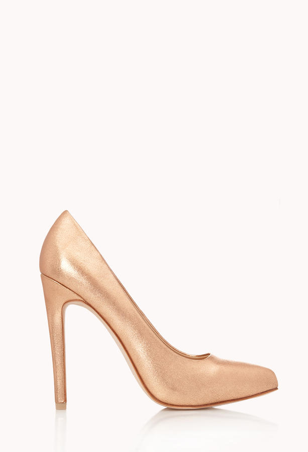 Forever 21 New Heights Stiletto Pumps