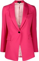 Theory fitted single-breasted blazer