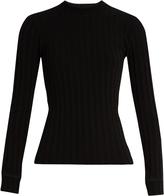 Simon Miller Mira long-sleeved ribbed-knit T-shirt