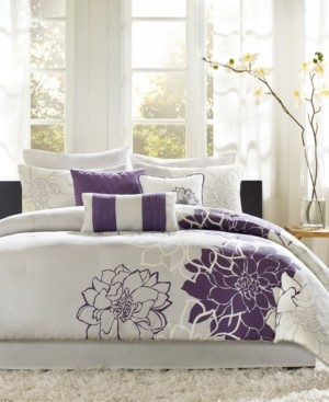 Madison Home USA Lola Cotton 6-Pc. Twin/Twin Xl Comforter Set Bedding