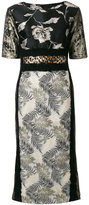 Antonio Marras contrast panel dress