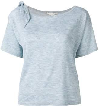 Autumn Cashmere tied shoulder T-shirt