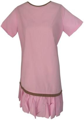 Onelady T-Shirt Dress Pink - Becky