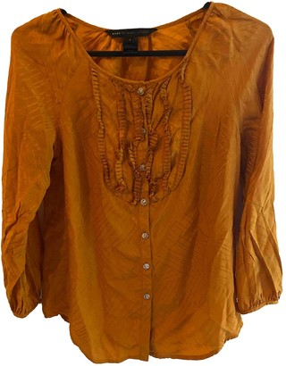 Marc by Marc Jacobs Orange Silk Top for Women