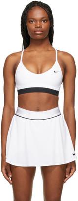 Nike White Indy Sports Bra