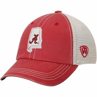 Top of the World Unbranded Youth Crimson Alabama Crimson Tide United Trucker Adjustable Hat