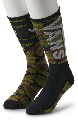 Vans Men's 2-pack Fashion Crew Socks