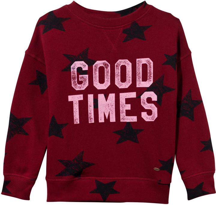 O'Neill Red Star Print Good Times Sweatshirt