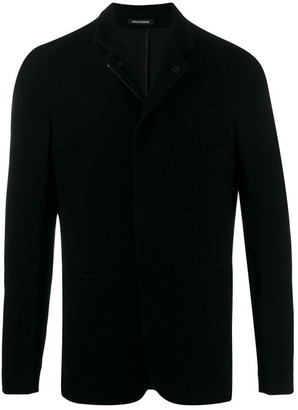 Emporio Armani Mandarin Collar Jacket