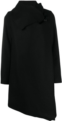 AllSaints City wrap-style midi coat