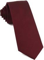 The Tie Bar Burgundy Grosgrain Solid Tie
