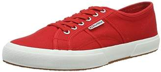 Superga 2750 Cotu Classic, Unisex Adults' Fashion Low-Top Sneakers, Red (Red-White), 5 UK ( EU)