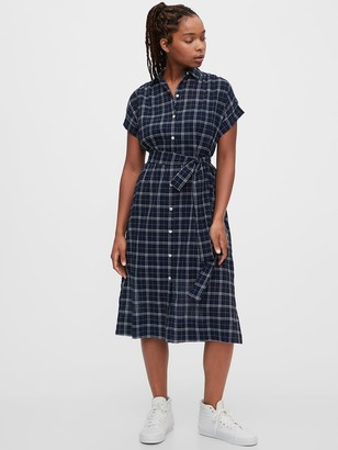 Gap Midi Shirtdress