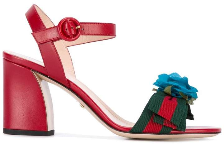 94cd75ed6 Gucci Red Women s Sandals - ShopStyle