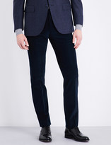 Corneliani Slim-fit mid-rise corduroy trousers