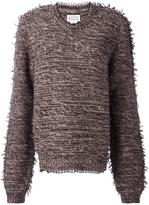 Maison Margiela fringed jumper - women - Cotton/Polyamide/Viscose/Wool - M