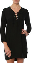 Monrow Lace Up Tunic