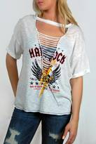 Vintage Havana Shredded Rock Tee