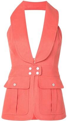Alexis Micoli tailored vest