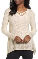 Halogen Women's Foil Dipped Sweater