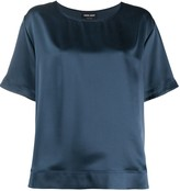Giorgio Armani relaxed-fit silk blouse