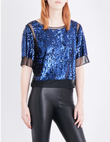 By Malene Birger Cosildo sequinned top