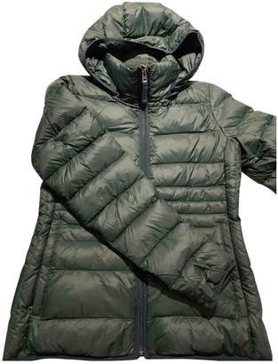 Abercrombie & Fitch Green Jacket for Women