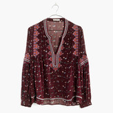 Madewell Ulla JohnsonTM Silk Jamila Top