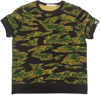 A Bathing Ape Green Cotton Top for Women