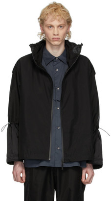 A. A. Spectrum Black Track Jacket