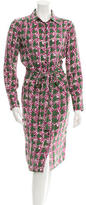 Sophie Theallet Printed Silk Dress w/ Tags