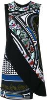 Versace Cityscape print cady dress