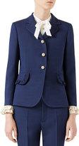 Gucci Silk-Wool Jacket