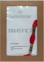 ANSO Merci Embroidery Card