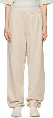 Acne Studios Beige French Terry Lounge Pants