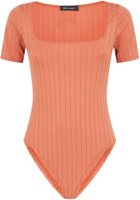 New Look Wide Rib Square Neck Bodysuit