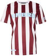 House Of Holland X Umbro Brown Stripe Football T-shirt