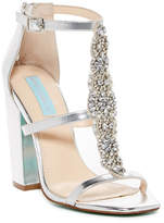 Betsey Johnson Lydia Satin Open Toe Sandal