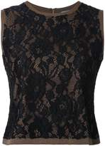 GUILD PRIME lace sleeveless blouse