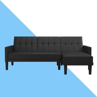 "Hashtag Home Correia 83"" Right Hand Facing Sleeper Sofa & Chaise"