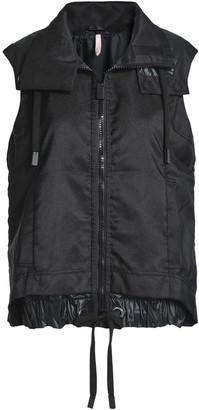 NO KA 'OI Shell-paneled Canvas Hooded Jacket