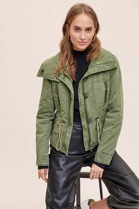 Anthropologie Remy Quilted-Utility Jacket