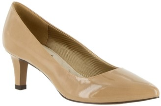 Easy Street Shoes Pointe Pointed Toe Patent Pump - Multiple Widths Available