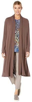 Karen Kane Duster (Mushroom) Women's Clothing