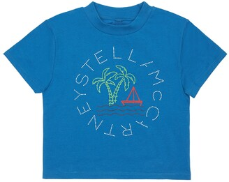Stella McCartney Kids Printed Organic Cotton T-Shirt