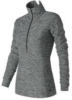 New Balance Women's RWT71102 IN Transit Half Zip Pullover