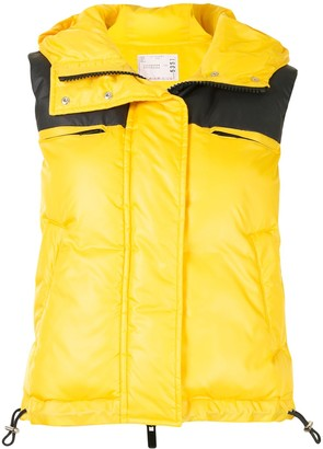 Sacai Padded Sleeveless Gilet